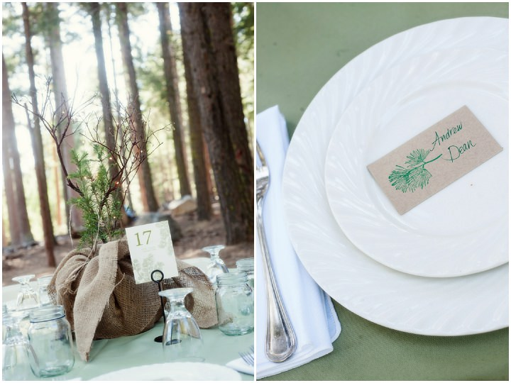 29 Rustic Outdoor Woodland Wedding