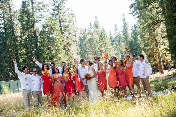 3 Rustic Outdoor Woodland Wedding