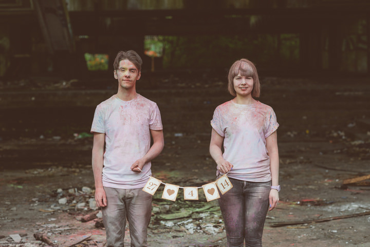 30 Paint Throwing Engagement Shoot in Scotland By Neil Thomas Douglas