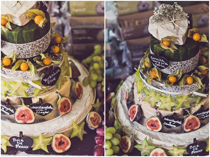 cheese wedding cakes cheshire brasserie wedding in cheshire by penn 12606