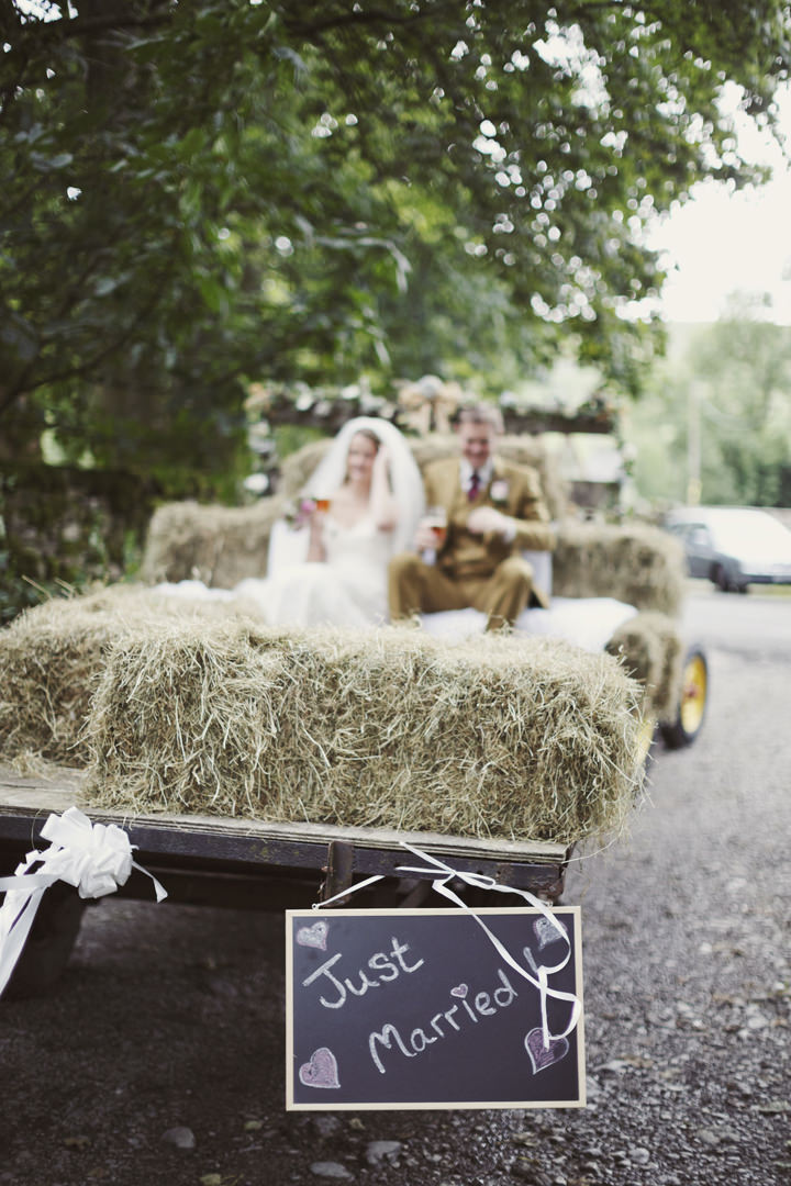 31 Hay Bales and Tractor Loving Yorkshire Wedding My Mark Tattersall