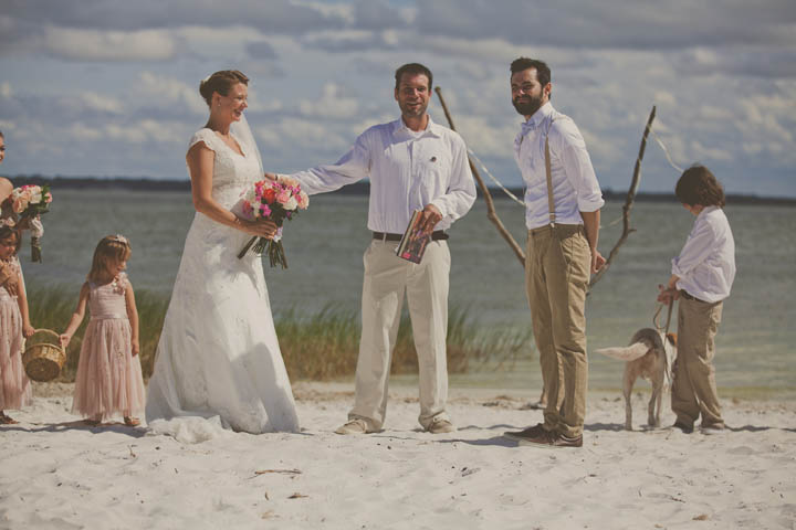 32 Florida Lake Wedding. By Stacy Paul Photography