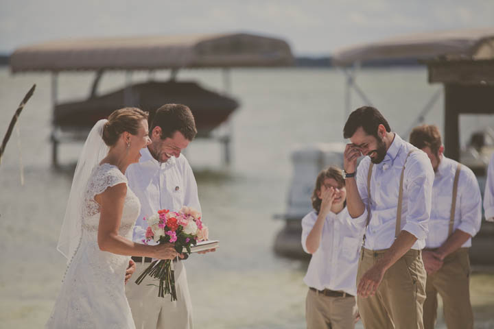 33 Florida Lake Wedding. By Stacy Paul Photography