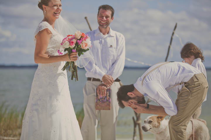34 Florida Lake Wedding. By Stacy Paul Photography