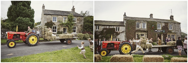 34 Hay Bales and Tractor Loving Yorkshire Wedding My Mark Tattersall