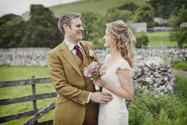 35 Hay Bales and Tractor Loving Yorkshire Wedding My Mark Tattersall
