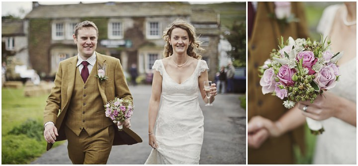 36 Hay Bales and Tractor Loving Yorkshire Wedding My Mark Tattersall