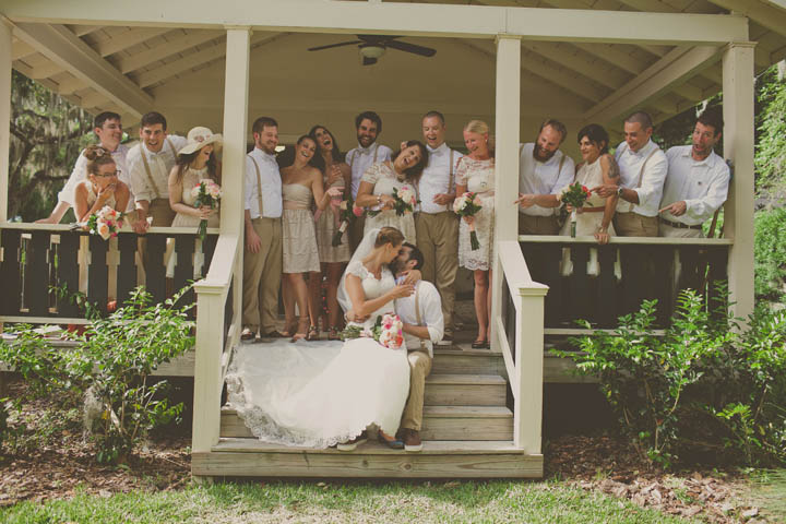 38 Florida Lake Wedding. By Stacy Paul Photography