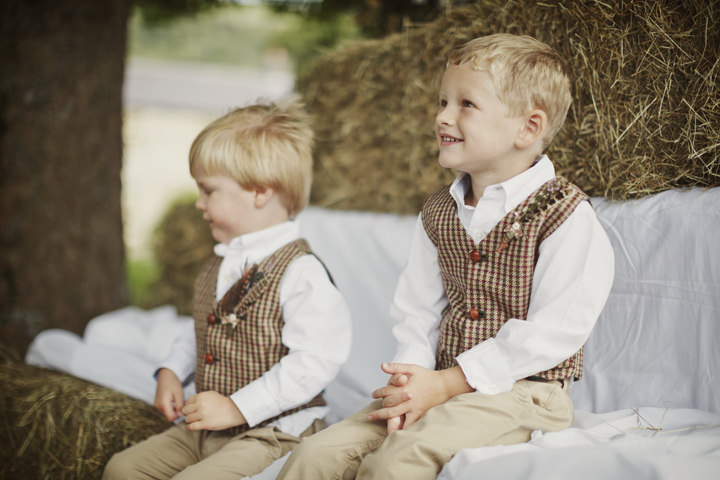 4 Hay Bales and Tractor Loving Yorkshire Wedding My Mark Tattersall