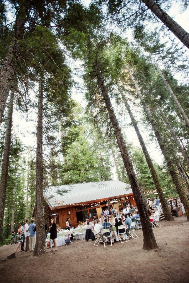 4 Rustic Outdoor Woodland Wedding