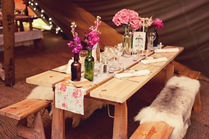 43 Northumberland Tipi wedding by Katy Lunsford