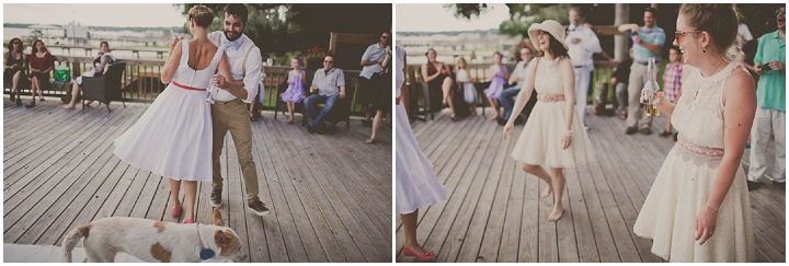 51 Florida Lake Wedding. By Stacy Paul Photography