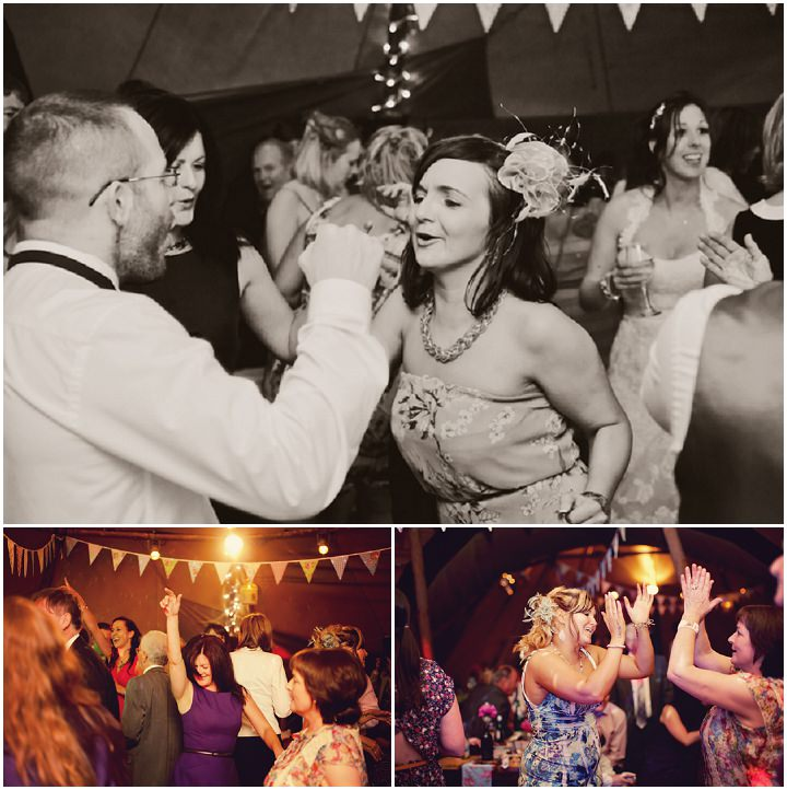 55 Northumberland Tipi wedding by Katy Lunsford