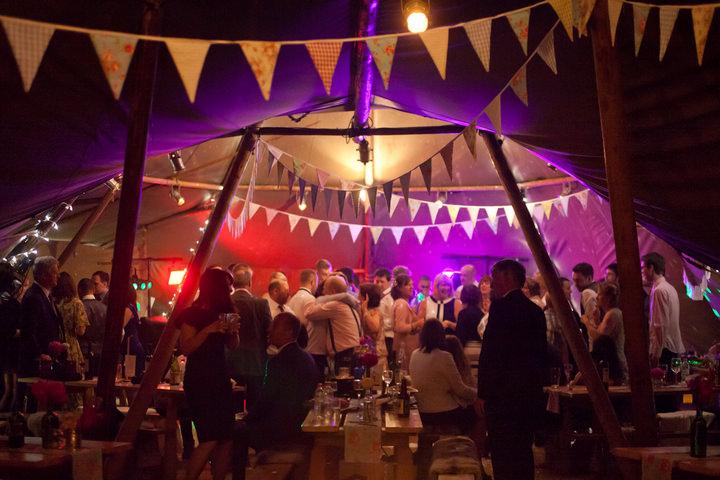 56 Northumberland Tipi wedding by Katy Lunsford