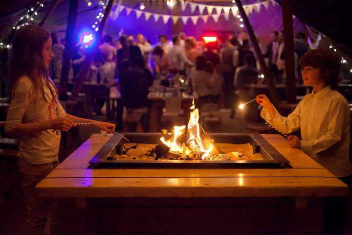57 Northumberland Tipi wedding by Katy Lunsford