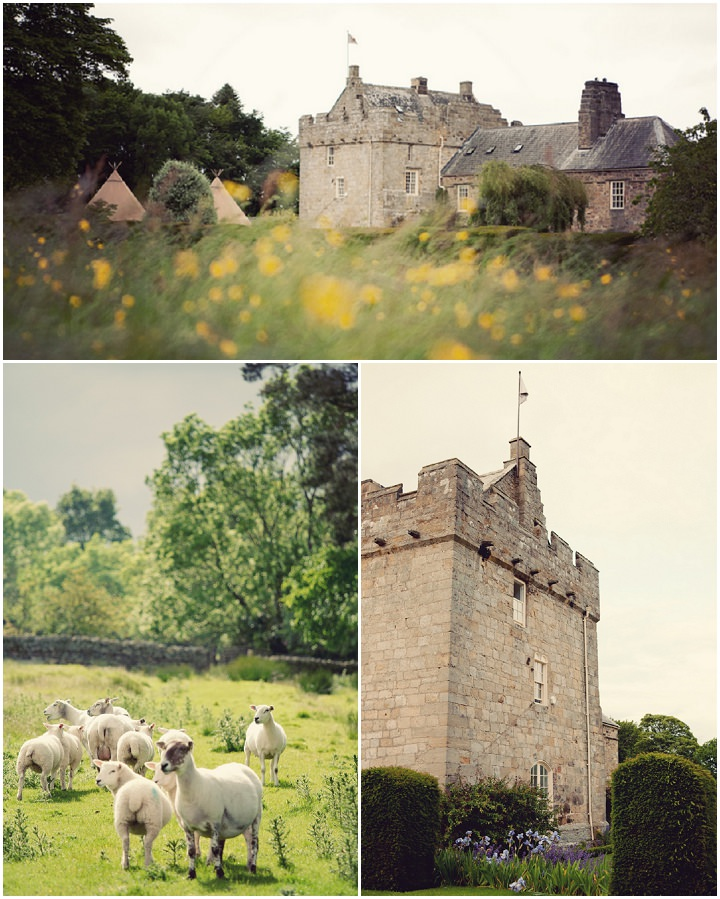 7 Northumberland Tipi wedding by Katy Lunsford