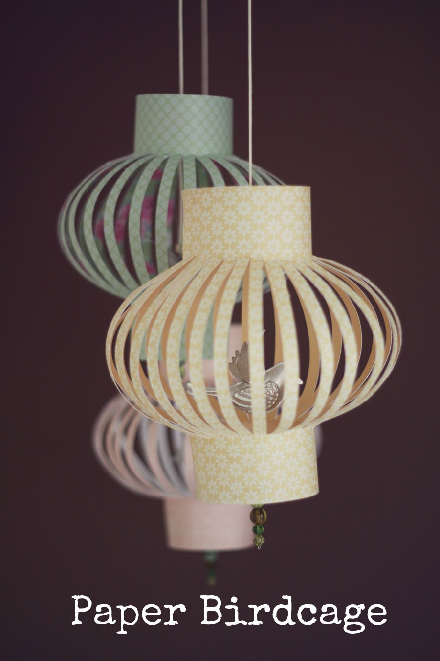 Diy tutorial paper birdcage boho weddings for the boho for Paper decorations diy