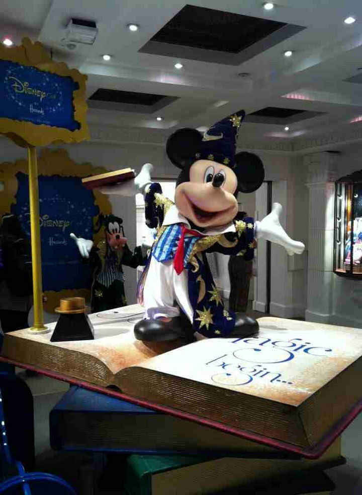 Harrods Disney Cafe