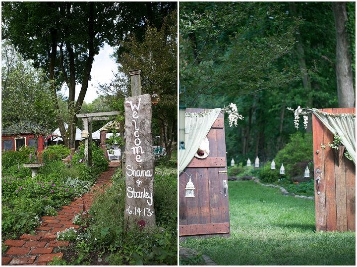 14 Backyard DIY Wedding in Massachusetts