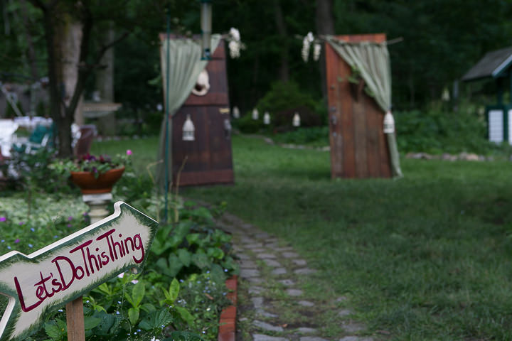 15 Backyard DIY Wedding in Massachusetts