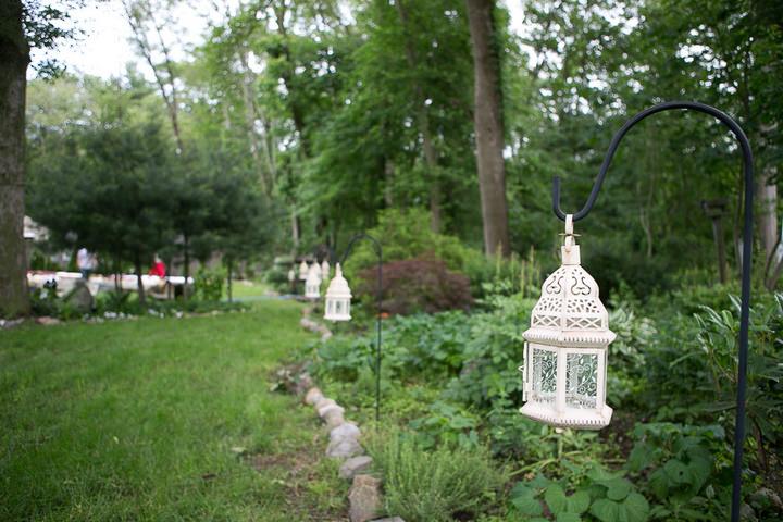 16 Backyard DIY Wedding in Massachusetts