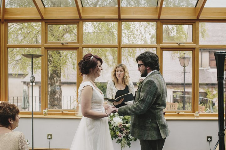 16 Lace and Tweed Wedding in Wales By Craig and Kate