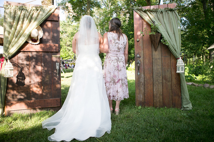 19 Backyard DIY Wedding in Massachusetts