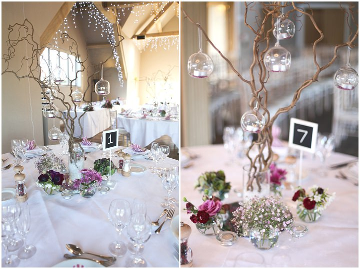 2 Fairy Lights And Chalk Boards Rustic Diy Wedding