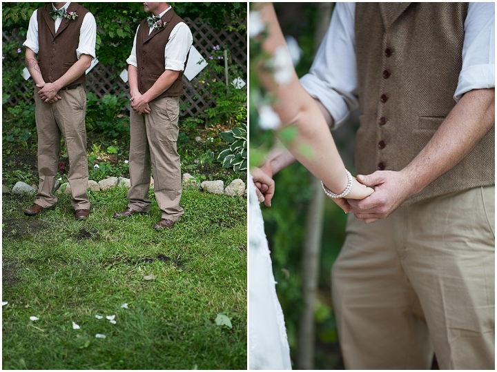 21 Backyard DIY Wedding in Massachusetts