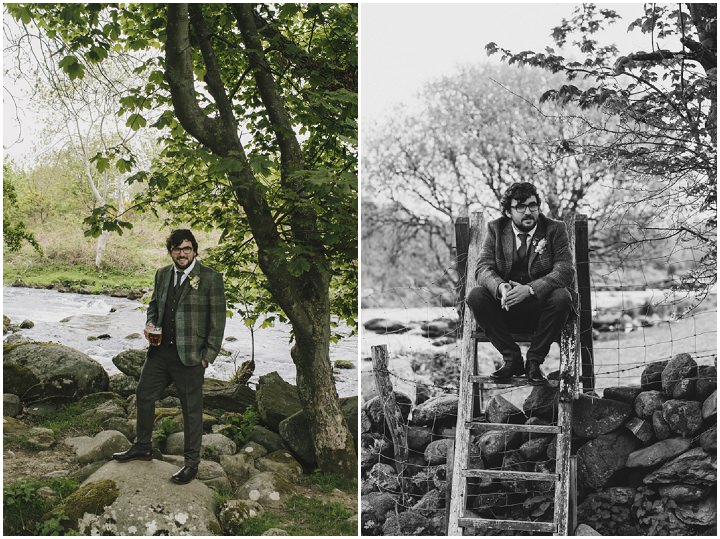 21 Lace and Tweed Wedding in Wales By Craig and Kate