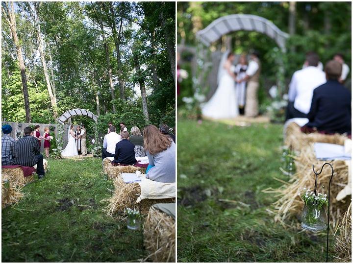25 Backyard DIY Wedding in Massachusetts