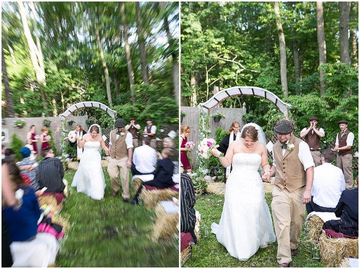 29 Backyard DIY Wedding in Massachusetts
