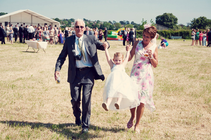29 Fun Festival Wedding, With Fish & Chips And a Rodeo Bull.