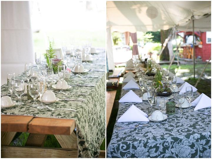 33 Backyard DIY Wedding in Massachusetts
