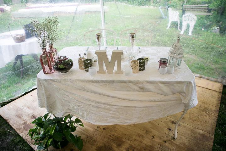 35 Backyard DIY Wedding in Massachusetts