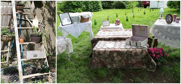 39 Backyard DIY Wedding in Massachusetts