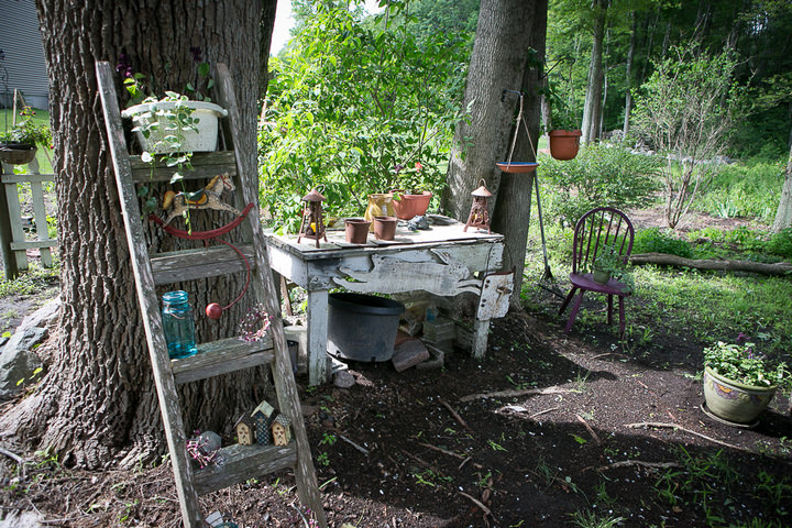 40 Backyard DIY Wedding in Massachusetts