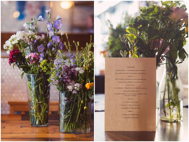 Greek Wedding in London with a Touch of 1930s Glamour - Boho