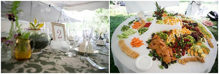 41 Backyard DIY Wedding in Massachusetts