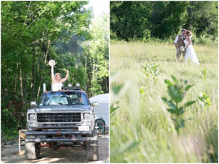 42 Backyard DIY Wedding in Massachusetts