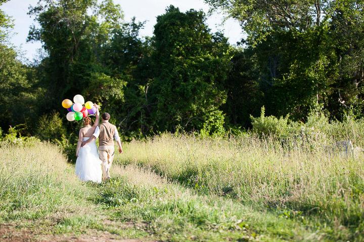 43 Backyard DIY Wedding in Massachusetts