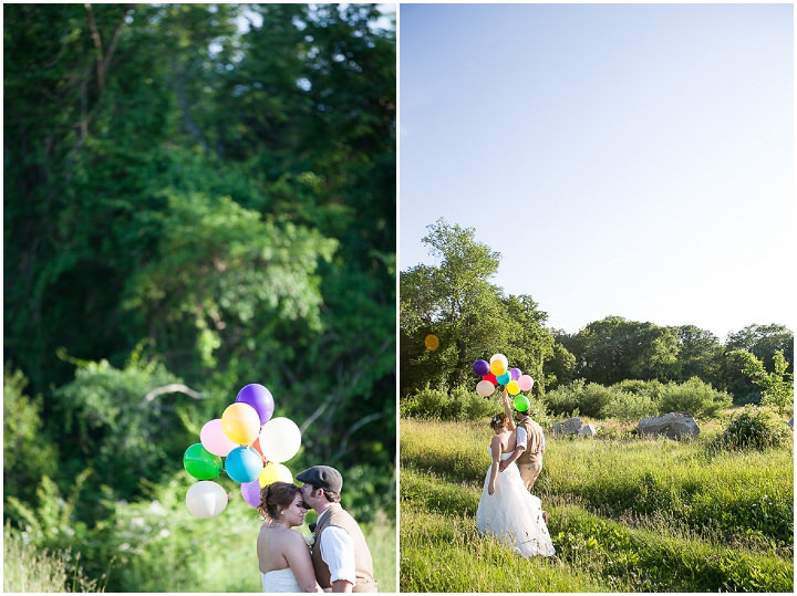 44 Backyard DIY Wedding in Massachusetts