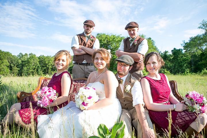 48 Backyard DIY Wedding in Massachusetts
