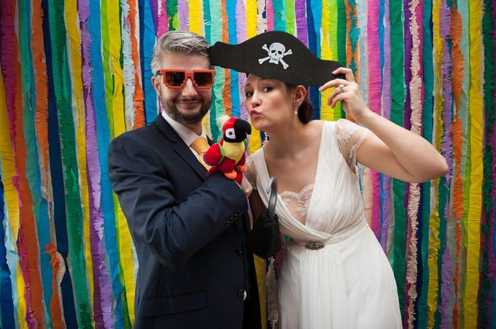 5 Pirate Themed Handmade Wedding in London
