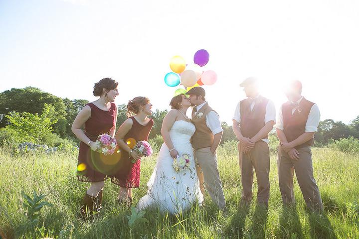 52 Backyard DIY Wedding in Massachusetts