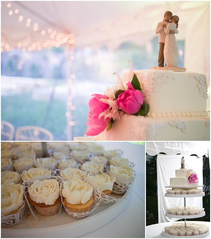 55 Backyard DIY Wedding in Massachusetts