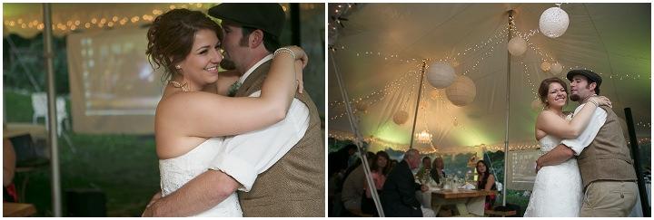 56 Backyard DIY Wedding in Massachusetts