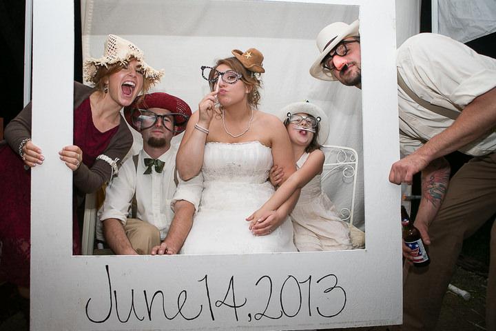 57 Backyard DIY Wedding in Massachusetts
