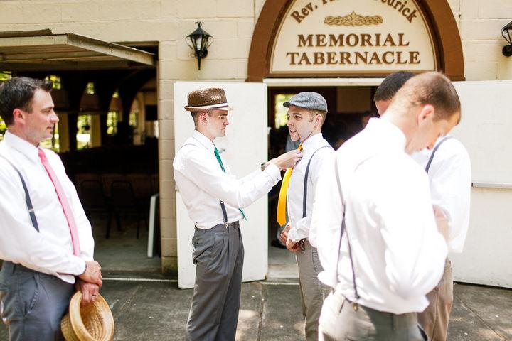 11 Colourful Laid Back Wedding all under $5,000