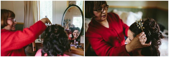 11 Handmade Wedding in The Woods Complete with Ferret Racing